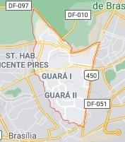 mapa guara 1 2 df